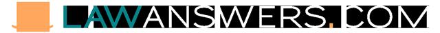 LawAnswers.com – Greg A. Piccionelli, Esq. practicing attorney Logo